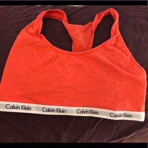 Calvin Klein cotton sports bra